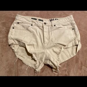 Volcom Jean Size 9 High-Waisted Shorts